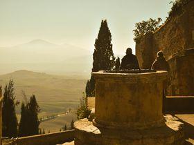 2つの世界遺産が競演!ローマ法王が造り直した町ピエンツァ