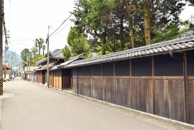 熊野古道「伊勢路」と歴史ある町並み