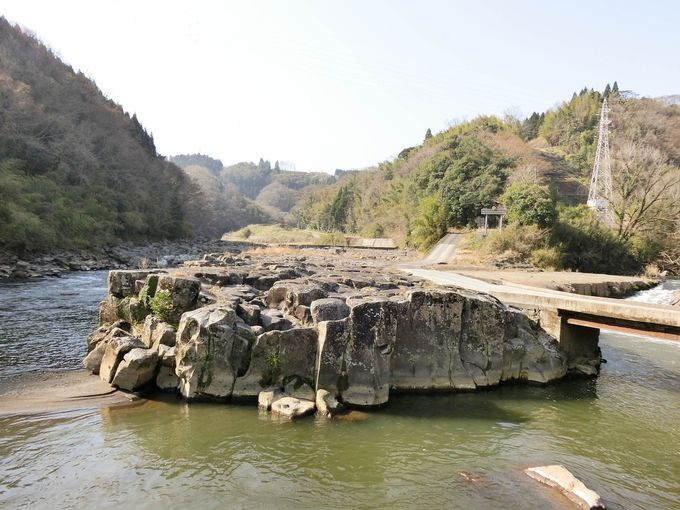 阿蘇山の噴火が生み出した岡城