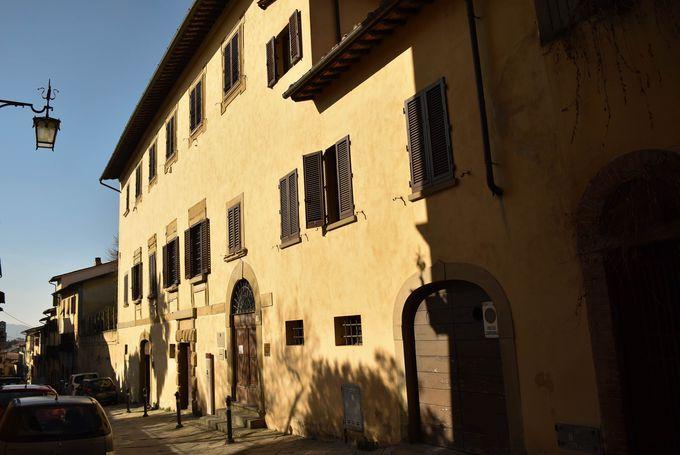 芸術家・ヴァザーリが自身で建築した家