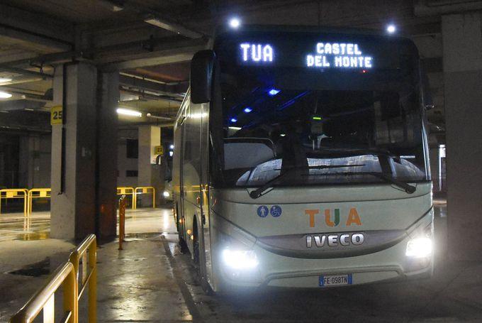 ラクイラから路線バスでアクセス