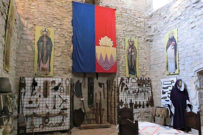 要塞見学で中世にタイムスリップ!