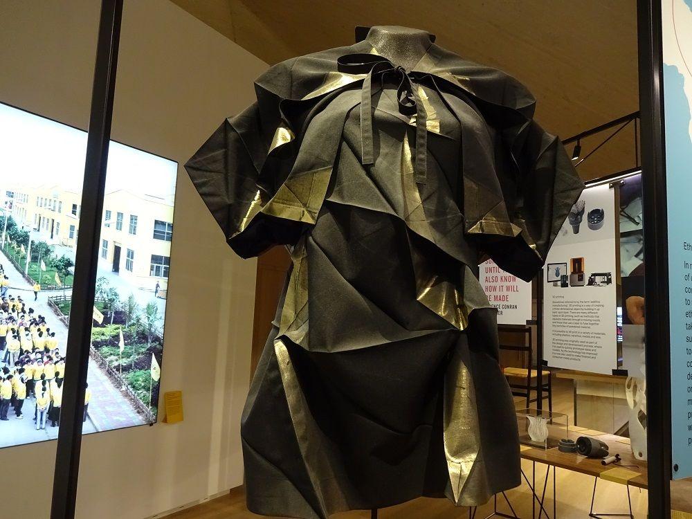 見どころ満載の常設展示 日本人デザイナーの活躍もキラリ