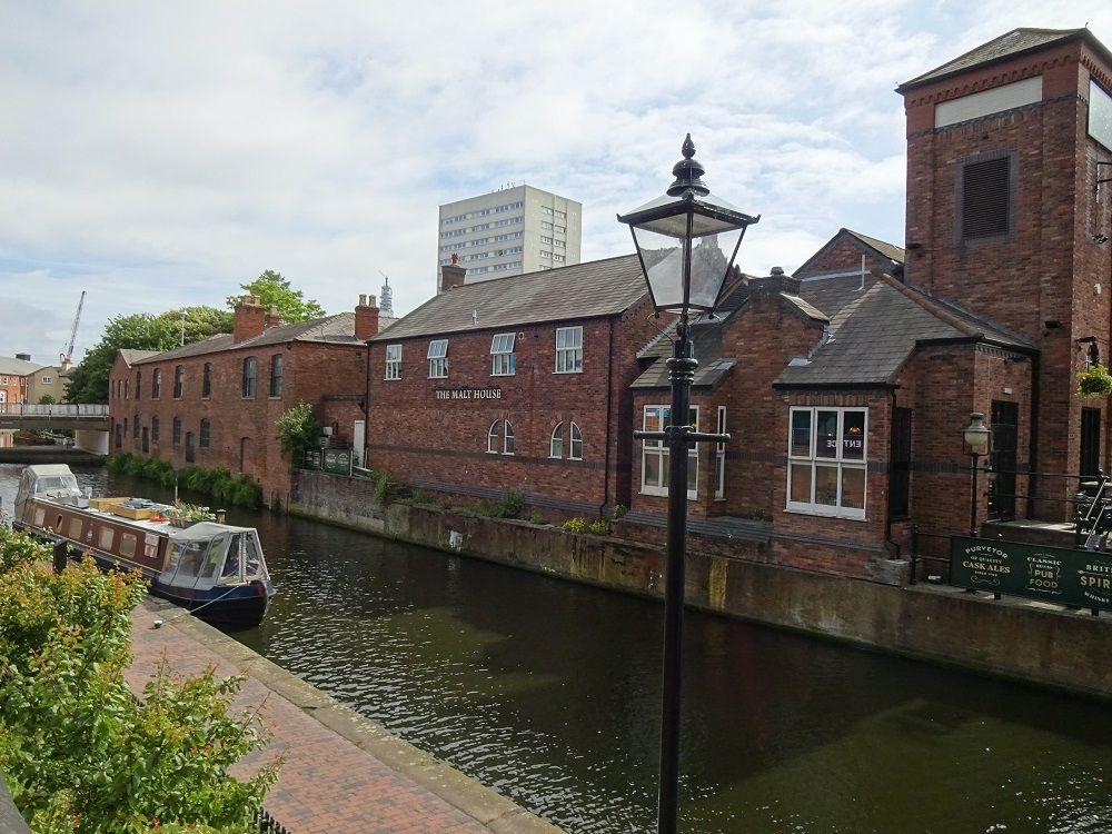 ロンドンとの水路に活躍したグランド・ユニオン運河