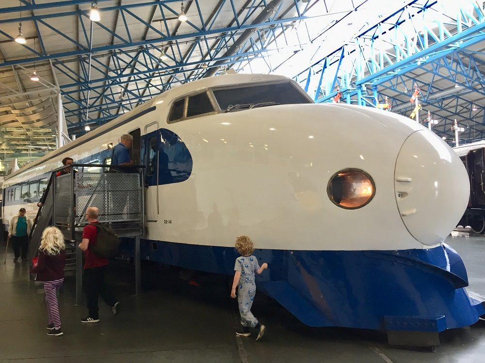 日本国外での展示はここだけ!新幹線0系の雄姿に感動