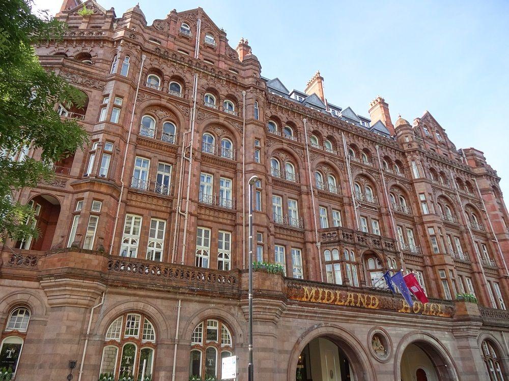 英マンチェスター中心部「ザ・ミッドランド」は魅力一杯のホテル