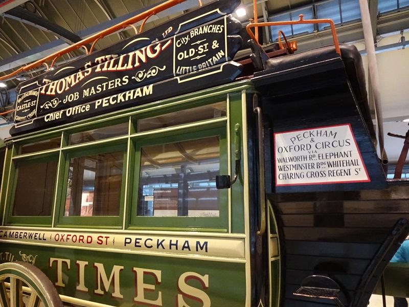 ロンドン名物2階建てバスの誕生 最盛期は5万頭の馬が!