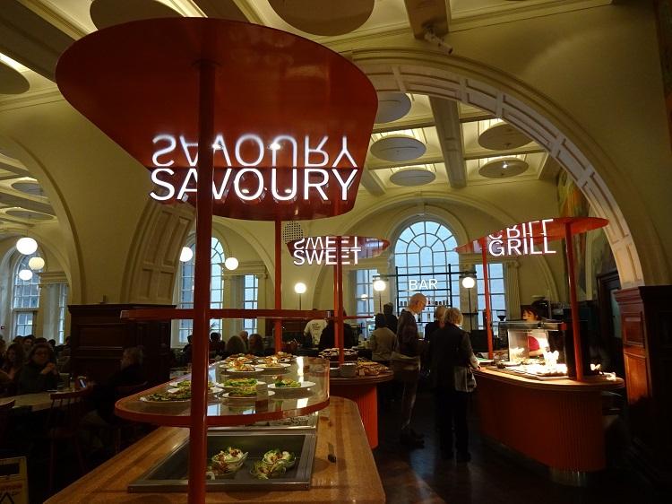 6つのチョイスが嬉しい お洒落なカフェ&レストラン