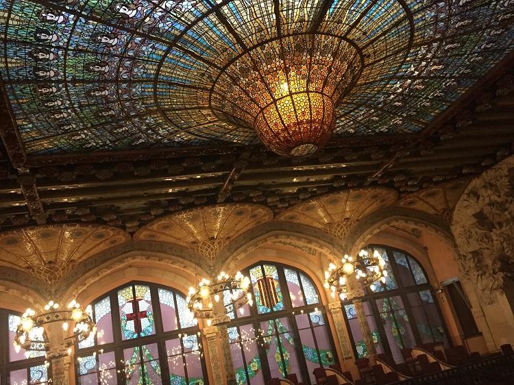 ガウディの恩師による傑作!麗しのカタルーニャ音楽堂