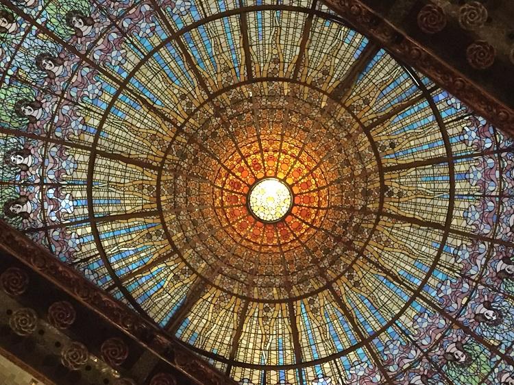 バルセロナの華麗なる世界遺産!「カタルーニャ音楽堂」見学ツアー