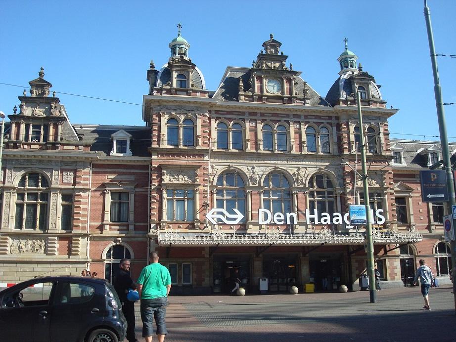 電車で1時間、アムステルダムから日帰り可能なデン・ハーグ