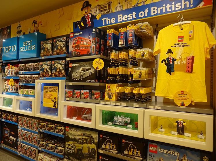 「レゴ・ストア」もロンドンらしい映えスポット満載!
