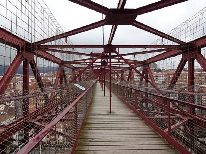 世界遺産のビスカヤ運搬橋 トップデッキを歩いてみよう!