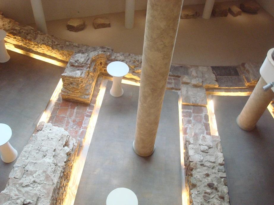 ホテル建設中に驚くべき発見!出土されたローマ時代の遺跡