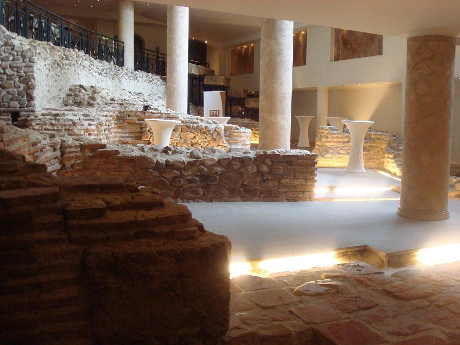 ブルガリア・ソフィアの遺跡つきホテル「アレーナ・ディ・セルディカ」