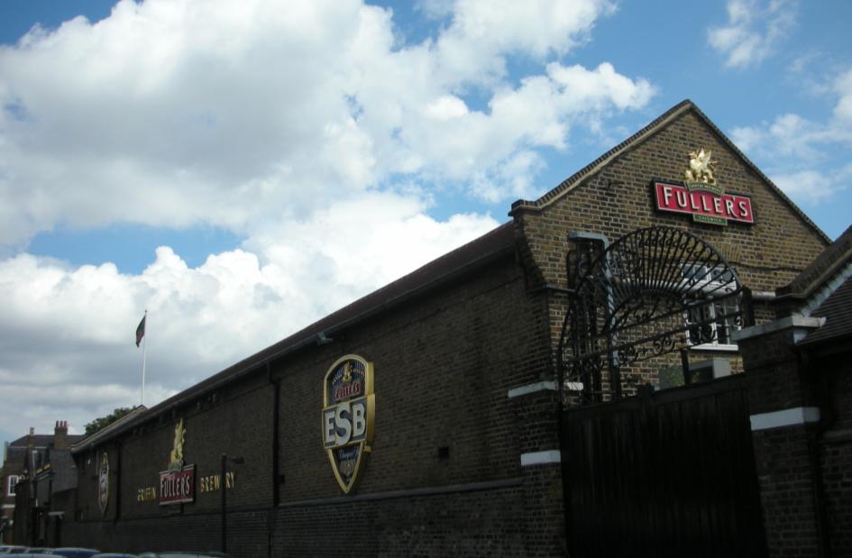 ロンドン最大&最古のビール会社フラーズ・グリフィン醸造所
