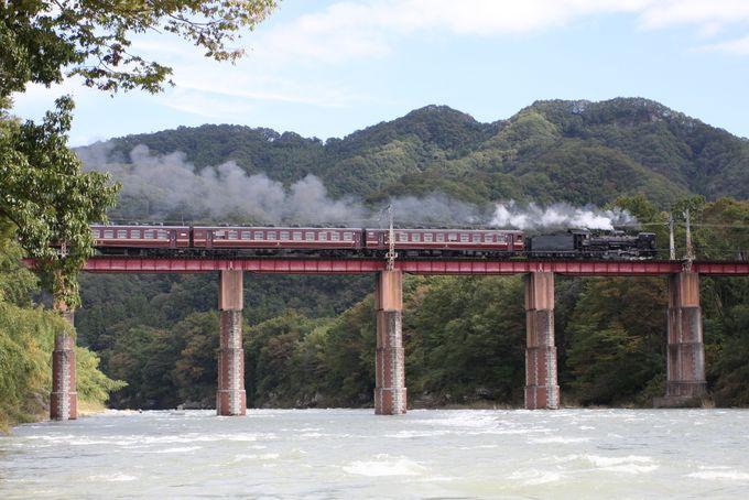 秩父鉄道のハイライト!荒川を渡る絶景!