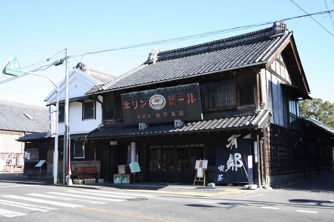 桐生の街並み保存の中心地…「有鄰館」の倉庫群