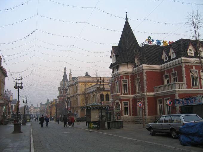 大連の街はここから始まった…勝利橋たもとのロシア風情街へ