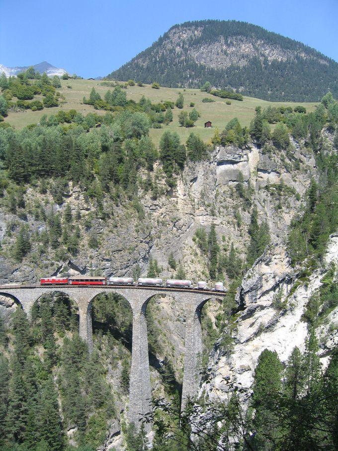 鉄道の世界遺産…ランドヴァッサー橋を見に行こう!