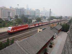 鉄道ファンは必見!?〜北京に今も残る城壁・北京城東南角楼