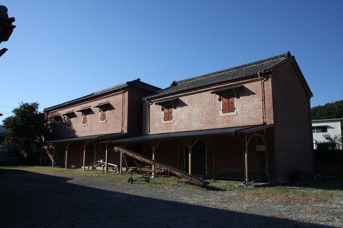 下仁田にも絹ゆかりの遺産が!…ひっそりと佇む赤レンガ倉庫