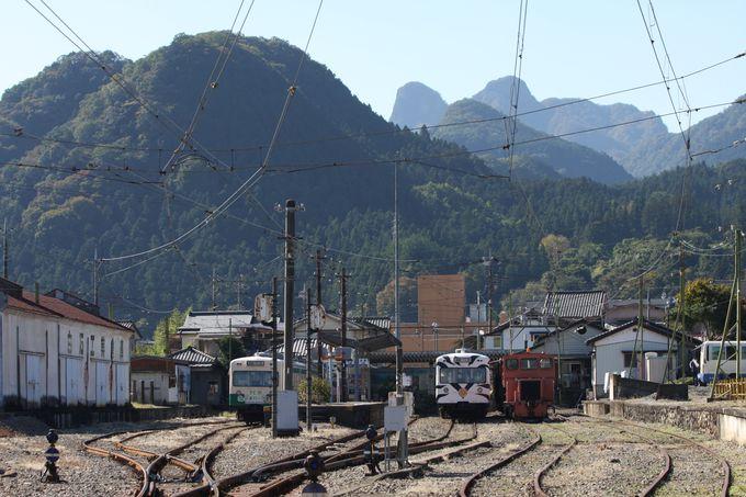終着駅下仁田へも足を伸ばしてみよう!
