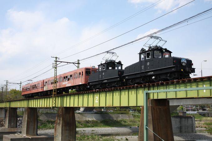 現役最古級の電気機関車「デキ」をお見逃しなく!
