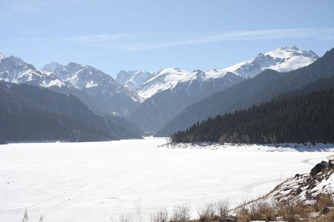 """天池の""""歩き方""""〜3月までは湖面を歩いて観光!"""