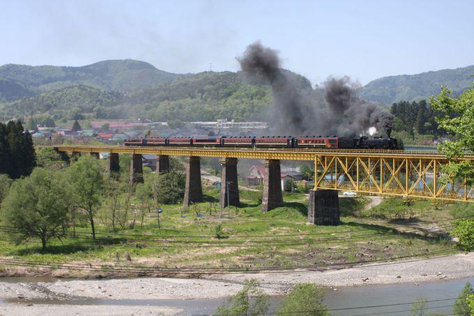 山都にて、ぜひお蕎麦を♪…磐越西線のハイライト・一ノ戸川橋梁にも行ってみよう!