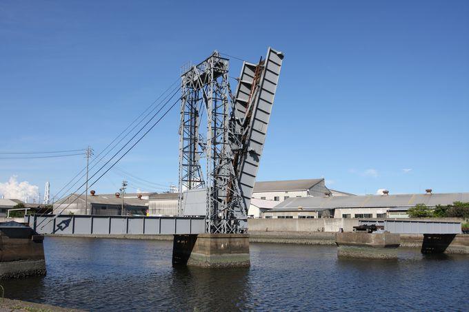 現存する最後の鉄道可動橋…末広橋梁に行ってみよう!