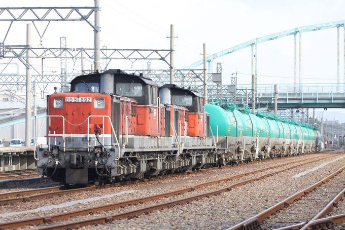 6.貨物列車と鉄道可動橋