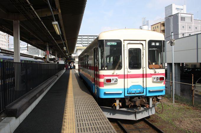 旅の始まりは勝田駅1番線…お得なフリーパスも活用して♪