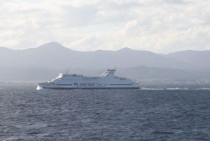 いざ津軽海峡へ!〜津軽・下北両半島を眺望しながら、陸奥湾を北上