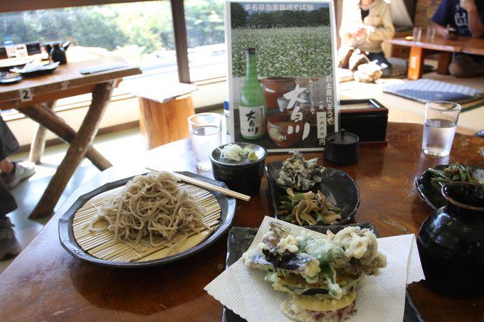 駅が蕎麦屋!〜大白川駅で絶品蕎麦+どぶろくを♪