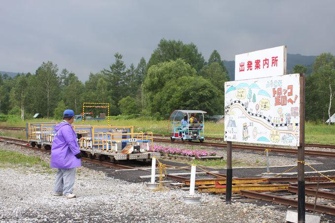かつての終着駅・仁宇布が王国の入り口