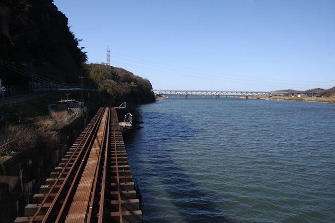 終点・江津(ごうつ)を目指して〜最後までゆるりと川面に沿って