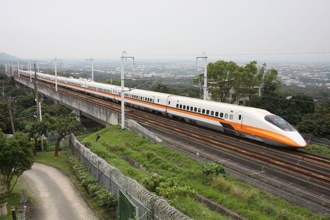 6.台湾での移動は列車が便利で楽しい!