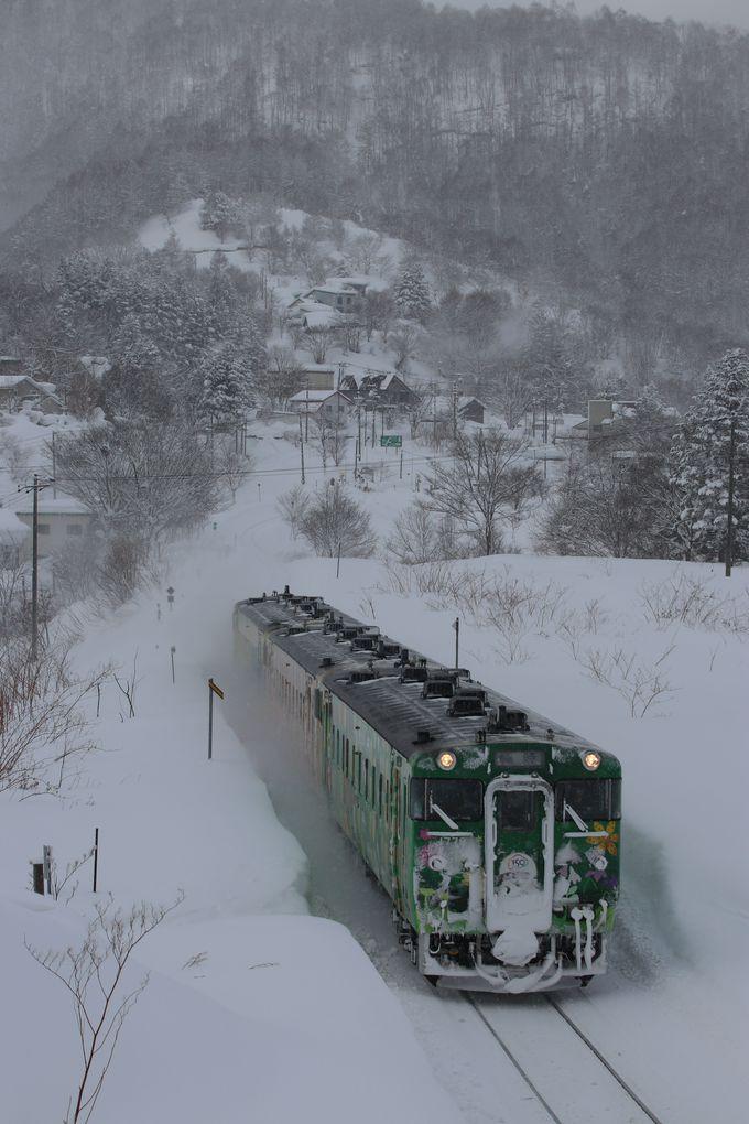 ローカル列車は千歳発…日中の2往復を逃さないで!