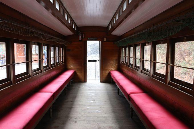 明治の客車に乗ってみよう〜車窓もすばらしい!