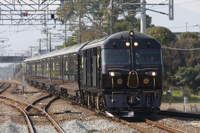 南へと疾走する「ななつ星」を撮影〜新田原駅へ先回り