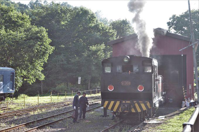 森の中の鉄道博物館…SLも走る!三笠鉄道記念館
