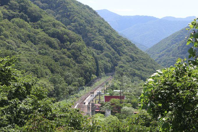 モグラ駅から外へ出てみると…「国境の長いトンネル」はこちら