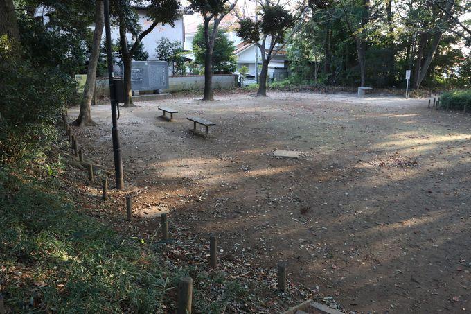 空堀や土塁の跡も!…大谷口歴史公園へ