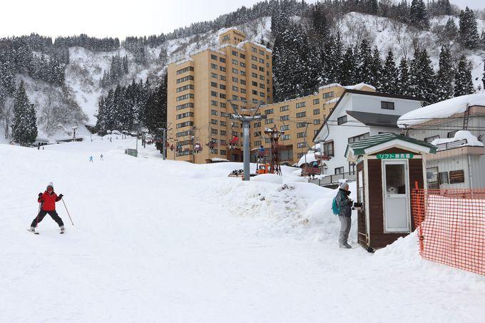 町の賑わいも楽しめる越後湯沢駅周辺!湯沢高原スキー場
