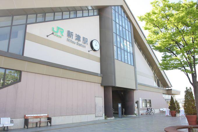 鉄道の交差点・新津駅から出発!〜駅中サテライト「ていしゃば」はミニ資料館