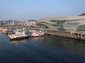 朝の目ざめは釜山港で…関釜フェリーでのんびり優雅に釜山へ旅しよう