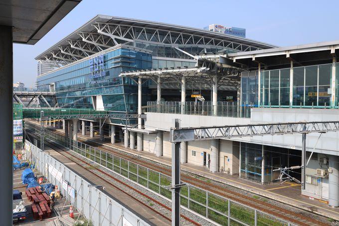 フェリーターミナルから釜山駅へ…船をおりたら早速観光スタート!