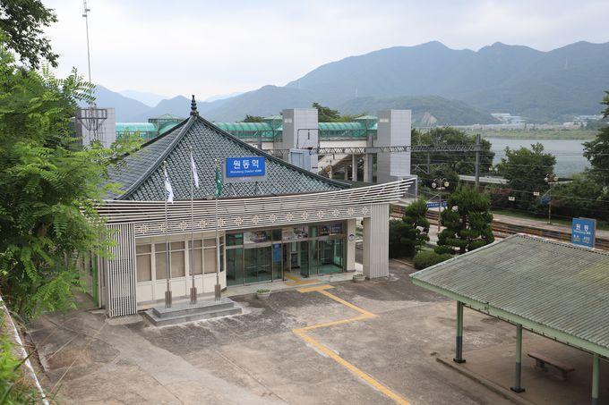 秘境駅・院洞〜絶景展望台へは徒歩7分!