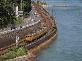 瀬戸内周防灘を電車でのんびり旅しよう〜JR山陽本線乗り撮り歩き